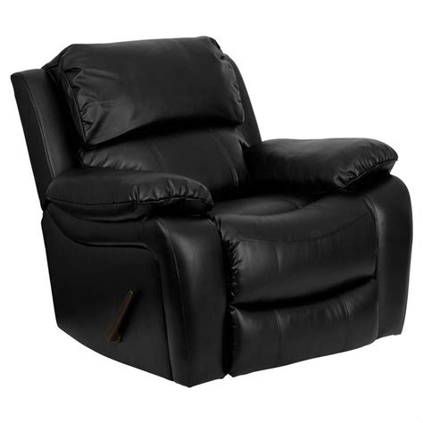 adults recliner gaming chair with speakers flash furniture leather rocker black recliner ebay
