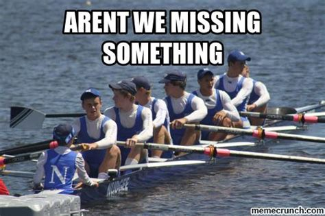 rowing boat puns rowing fail