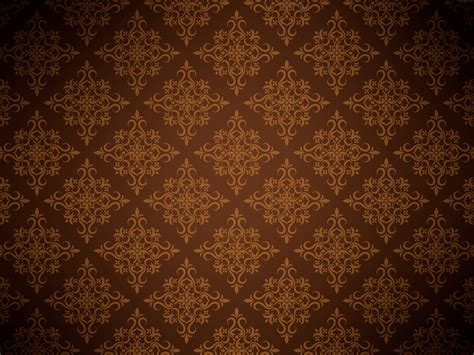 Background Design Brown | brown floral background psdgraphics