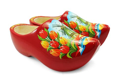 wooden shoe slippers wooden shoes with tulip and windmill design wooden