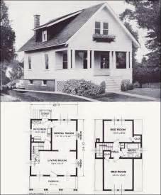 Cape Cod Blueprints the hazelwood transitional bungalow 1923 standard