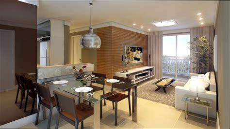 sala de estar como decorar uma sala de estar e jantar - Como Decorar Uma Sala De Estar E Jantar Juntas