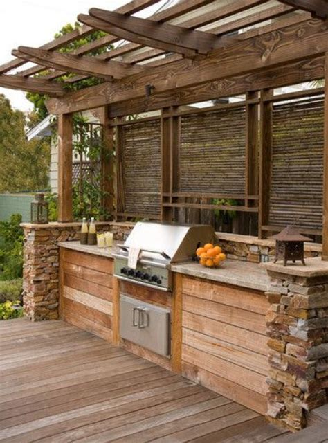ideas for outdoor kitchen amazing outdoor kitchen ideas for enjoyable cooking time