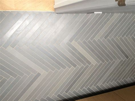 herringbone grey tile floor for the home pinterest grey tiles herringbone and grey