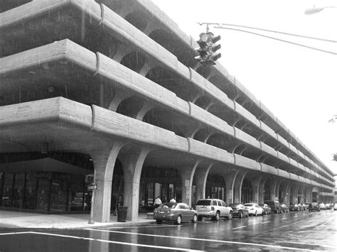 architecture temple parking garage