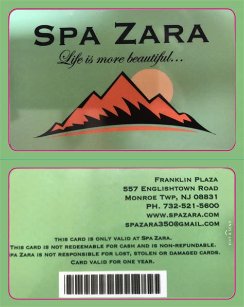 Buy Zara Gift Cards - spa zara