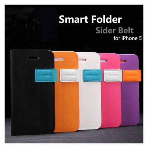 Capdase Smart Folder Sider Belt Apple Iphone 5 5s Oranye iphonese 5s 5 ケース smart folder sider belt black black capdase iphoneケースは unicase