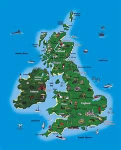 map tourist uk tourist map