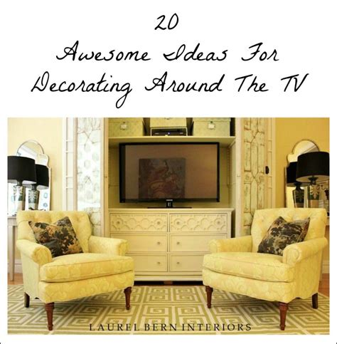 How To Decorate Around A by Decorating Around The Tv 20 Inspiring Ideas