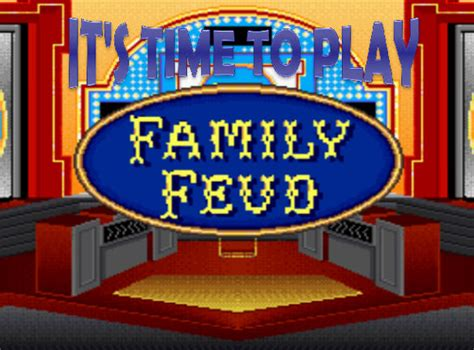 Family Feud Game Template Powerpoint Bountr Info Make Your Own Family Feud Powerpoint