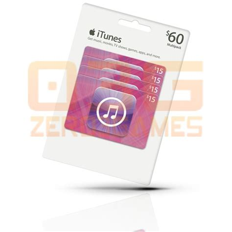 Iphone App Store Gift Card - itunes gift card 60 cart 227 o ipod iphone ipad mac app store r 209 99 em mercado livre