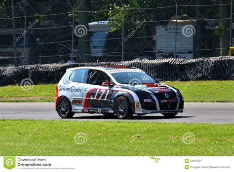Volkswagen Gti Racing Editorial Photography Image 52614507