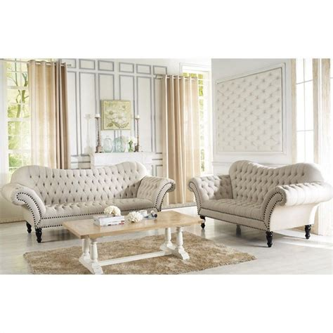 victorian sofa sets bostwick classic victorian sofa set in beige tsf 7202