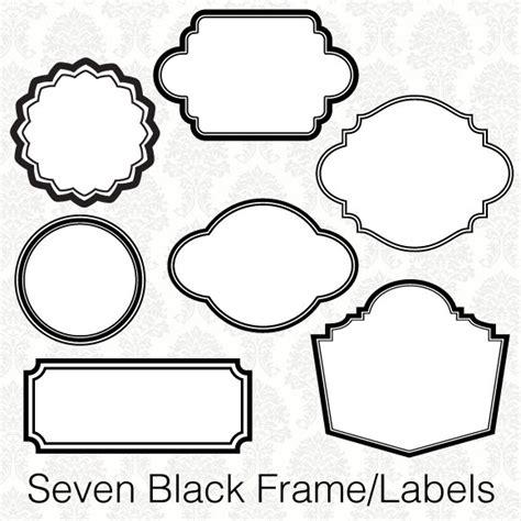 Lebel Bordir Label Borders Clipart Clipart Suggest