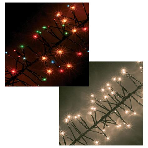chasing christmas cluster led lights set indoor outdoor