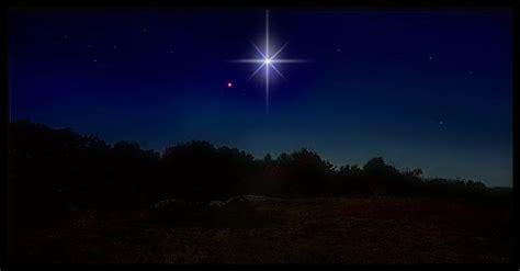 how to make star of bethlehem tonight the heavens will display jupiter and venus merging into a radiant shining light but it
