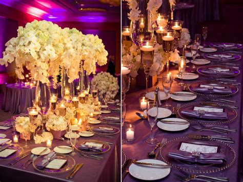Plum Decor by Lovely Purple Plum Wedding And Nam