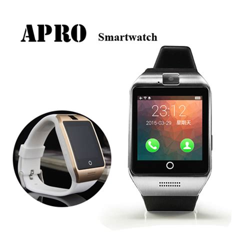 Smartwatch Waterproof Bluetooth Smart Waterproof Apro Smartwatch Support