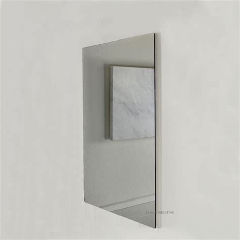 heated mirror bathroom 600w electric radiant infrared panel heaters comfort