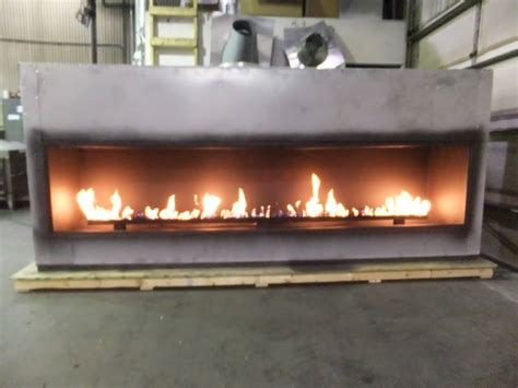 How To Light Gas Fireplace by Test Custom Linear Fireplace With 120 Inch Viewing Area Acucraft