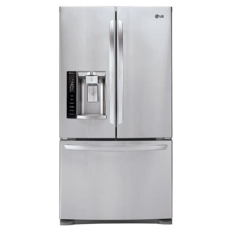 Bottom Freezer Drawer Refrigerator by Lg Lfx28968st 26 8 Cu Ft Door Bottom Freezer Refrigerator Stainless Steel Sears