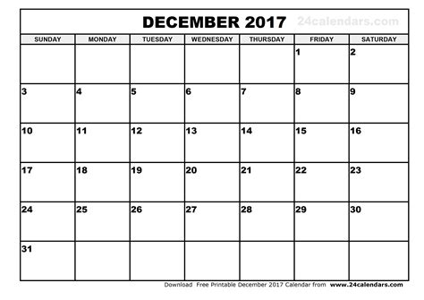 printable monthly calendar for december 2017 december 2017 calendar printable