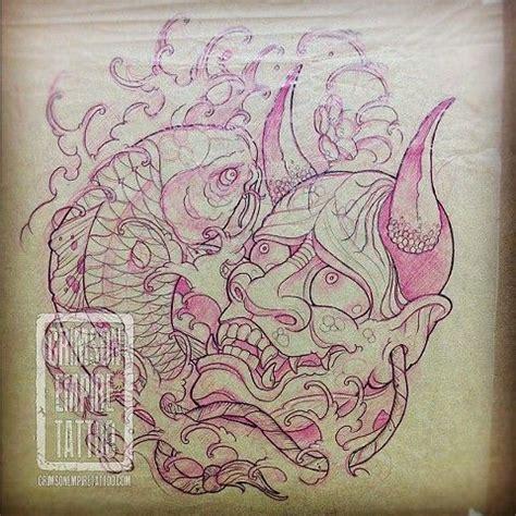 hannya mask tattoo sketch 92 best hannya images on pinterest
