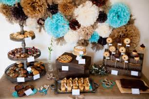 Rustic Wedding Buffet Table And Sweet Oh Sweet A Rustic Pie Buffet