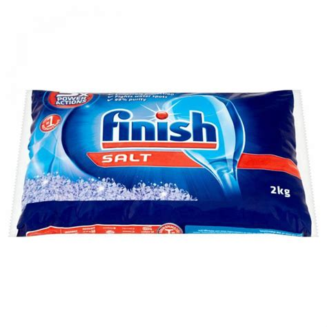 finish dishwasher salt kg