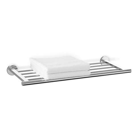 Stainless Steel Towel Shelf by Zack Scala Glossy Stainless Steel Towel Shelf 40065 At