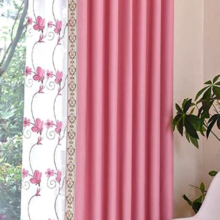 pink patterned curtains online pink patterned print polyester insulated bedroom curtains