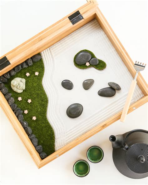 make your own zen garden diy mini zen garden