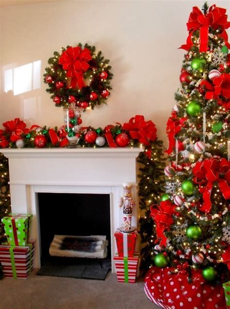 Christmas Decoration In The Living Room Pictures, Photos