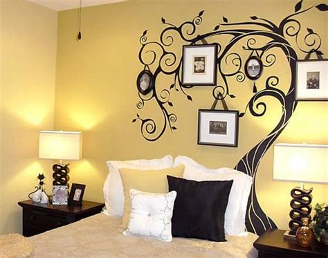 design on click painted wall designs for bedroom painting a design on wall
