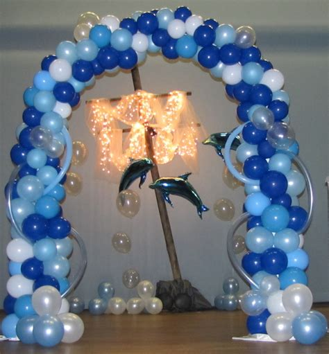Party people event decorating company prom fashion show under the sea