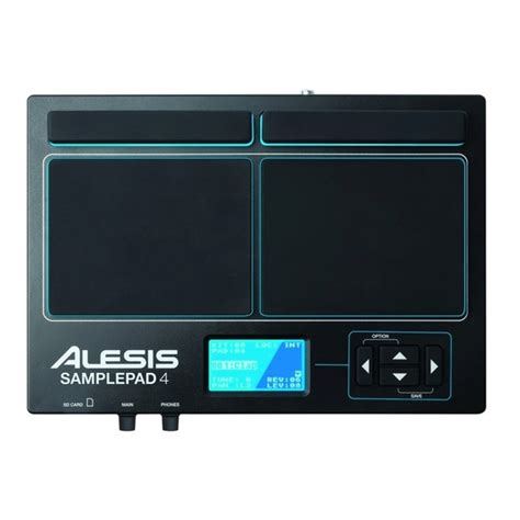 alesis sle pad 4 stand alesis slepad 4 with module mount and stand at gear4music