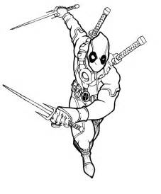 deadpool coloring book printable deadpool coloring pages coloring me