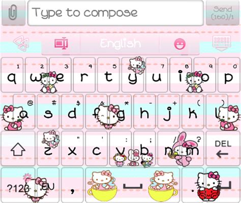 go sms keyboard themes hello kitty hello kitty amusement park theme pack android themes