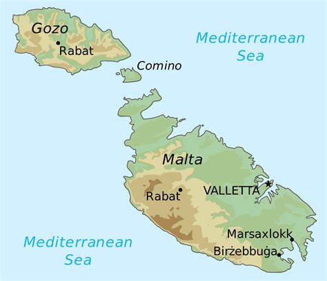 map of malta file general map of malta svg