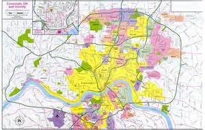 us map showing cincinnati cincinnati map free printable maps