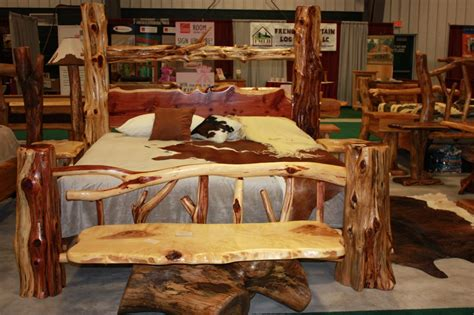 log cabin bedroom furniture log furniture bedroom sets log bedroom sets for natural