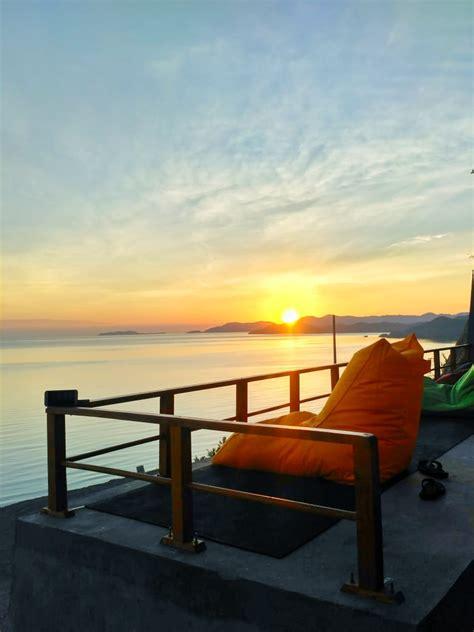 tree hill hostel tempat terbaik melihat sunset sunrise