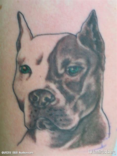 pit bull tattoos pitbull