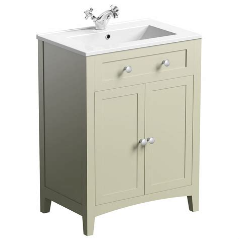 The Vanity Co by The Bath Co Camberley Vanity Unit With Basin 600mm