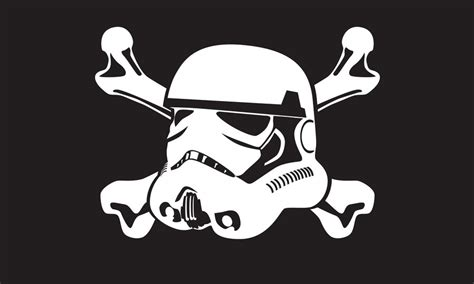 storm trooper jolly roger by mercenarygraphics on deviantart