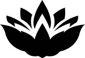 Lotus Flower Silhouette Clipart Lotus Flower Silhouette 3