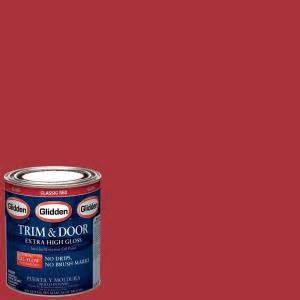 glidden trim and door 1 qt classic gloss interior