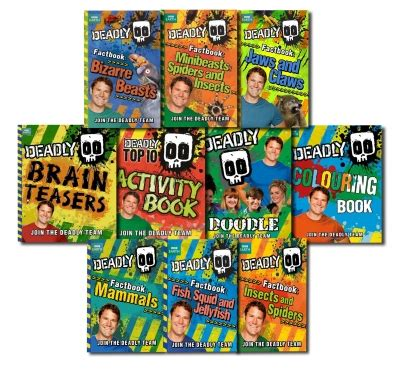 book giveaway for deadly trilogy complete series books 1 3 by ashley stoyanoff nov 04 dec 04 steve backshalls deadly series 10 books collection gift set pack bbc 9781407247885 buy books