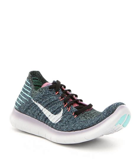 nike sports shoes for womens nike 180 s free run flyknit running shoes dillards