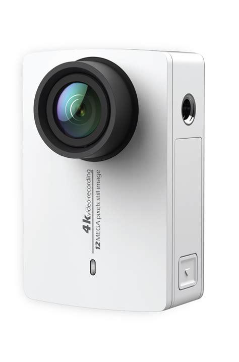 Xiaomi Yi 2 Wifi 4k Lcd Display Kamera White xiaomi yi ii nowa odsłona popularnej kamery sportowej wersja mobilna swiatobrazu pl